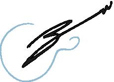 Bryan Wade Guitar Signature
