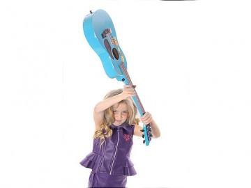 pic of Girl Smashing Guitar